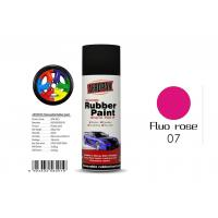 0.3 Pressure Inside Rubber Based Spray Paint Fluo Rose Color With SGS Certificate Manufactures