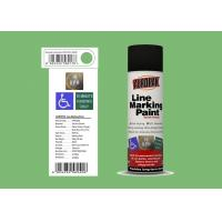 AEROPAK Line Marking Spray Paint leaf green color 500ml for street with ROHS Manufactures