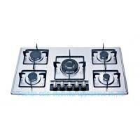 China Stainless Steel Gas Stove With 5 Burners(9A25S2) on sale