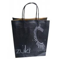 China Kraft Paper Shopping Bags With Handles on sale