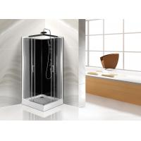 Square White ABS Tray Corner Shower Cabins 900 X 900 CE SGS Certification Manufactures