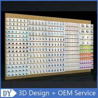 Mobile phone shop interior accessories wall display,cell phone store floor standing display racks with custom size logo Manufactures