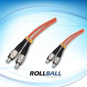 0.25DB PC Fiber Optic Patch Cord GR-409-CORE , CATV / Metro Connectors Manufactures