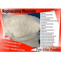 Local Anesthetic Ropivacaine Mesylate Pharma Raw Powder CAS NO 854056-07-8 Manufactures