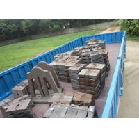 BTMCr15 High Cr Cast iron Stepped Liners Cement Mill Liners High Abrasion Performance for Delivery Manufactures