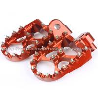Adjustable Motorcycle Wide Foot Pegs Manufactures