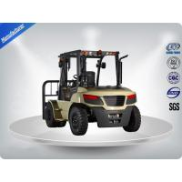 All Terrain Hydraulic Forklift Truck 5 Ton 5M Lifting No Noise For Height Rough Terrain Manufactures