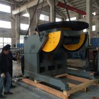 Automatic Pipe Welding Positioners 10 Ton Tilting / Rotation Capacity CE Oil-free Gearbox Manufactures