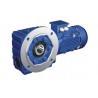 K series helical bevel gear reducer stepper motor Manufactures