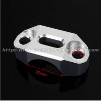 Quality Orange Silver Dirt Bike Parts Brake Clutch Control Clamp KTM Aluminum Alloy 6061 for sale