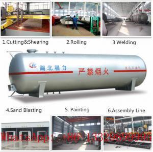 CLW brand mini 8,000L bulk surface LPG gas storage tank for sale(CLG1600-8), factory price 8m3 lpg gas storage tank Manufactures