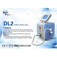 Super Cooling Germany Bars Portable 808nm Diode Laser Body Hair Removal Machine Manufactures