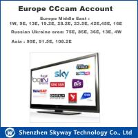 1 year Cccam account for Europe countries stable Manufactures