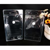 Custom PVC Packing Bag , Clear PVC Pouch Bag With Pouch Button Manufactures