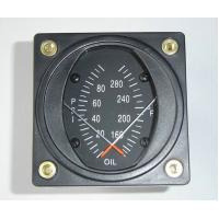 Buy cheap 100 psi Combination Dual Oil Aircraft Pressure Gauge and Temp Guages PT2-10P30F from wholesalers