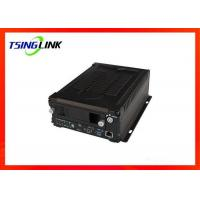 4G 1080P Vehicle Mobile NVR With GPS WiFi Hard Disk ROHS Certificated Manufactures