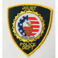Custom logo patch Police embroidery patches from green tree gifts Manufactures