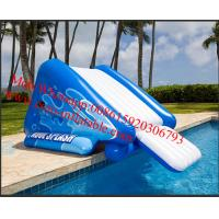 Quality Freefall 6 Inflatable Water Slide Aquatic Jungle Joe Water Slide for sale