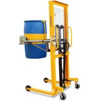 Manual drum stacker with scale with printer Manufactures