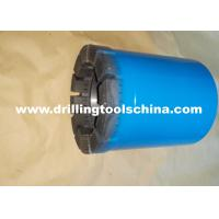 Exploration Mining Diamond Tipped Core Drill Bits Various Waterways Design For Concrete Manufactures