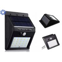 280 Lumens Solar Powered Motion Sensor Light , LED Solar Emergency Light Manufactures