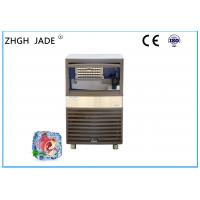 Brown Plastic Shell Mini Ice Maker Machine Air Cooling Mode Space saving Manufactures