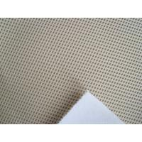 High Quality Punched Suede / Scalloped eyelet suede/shoe fabric/suede fabric Manufactures