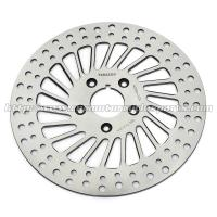Quality Classic Silver Front / Rear Brakes And Rotors For Harley Davidson Custom Parts for sale