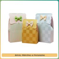 China customize colorful paper bag printing in guangzhou factory on sale