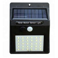 3.7v ABS 30 Leds Solar Powered Outdoor Lights With Motion Detector For Backyard Manufactures