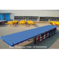 China 13M Length Hydraulic Gooseneck Low Bed Semi Trailer Trucks 60 Ton Heavy Duty on sale