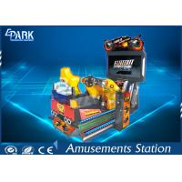 Quality Funny 3D Dynamic Car Arcade Racing Game Machine For Amusement Park for sale