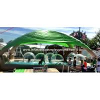 Land Largest Inflatable Water Pool , Inflatable Water Walking Ball With Tent Manufactures