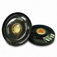 Slim Mylar Speaker with Silver Cone, Ideal for Telecommunication Manufactures