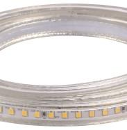 Quality 10W / M  2835 120LED Ceiling High Voltage Flexible LED Strip Warm White CE RoHS 110 / 220V for sale
