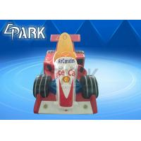 Aircanades Race Car Kiddy Ride Machine , Coin Operated Kiddie Rides Manufactures