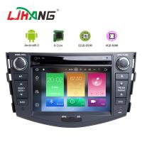 Built - In GPS Toyota Touch Screen Car Stereo Player With Wifi BT GPS AUX Video Manufactures