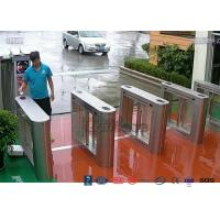 304 Stainless Steel Card Read Swing Arm Barriers Security Pedestrian Control System Manufactures