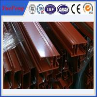 Wonderful profil aluminum with dervise colors, aluminium profile powder coating line Manufactures