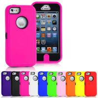 Heavy Duty Armour Cell Phone Protective Cases For iPhone 5C Manufactures