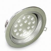 LED Downlight with 100 to 240V AC Operating Voltage and 3,000/6,000K CCT Manufactures