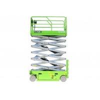 Electric height 12m and 320kg capacity scissor sky Lift Platform for construction Manufactures