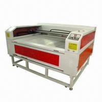 Cloth Laser Cutting Machine with 80W Power, Red Dot Pointer and DSP Control System Manufactures