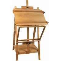 Portable Table Top Painting Easels For Large Frame , Tabletop Drawing Board Easel 128cm Height Manufactures