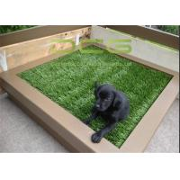Easy Installation Synthetic Artificial Grass Carpet / Plastic Grass Mat Manufactures