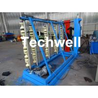 Vertical Hydraulic Roof Panel Roll Forming Machine for Curving Color Coating Steel Roof Sheet Manufactures