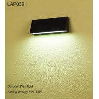 waterproof E27 13W exterior LED wall light for hotel Manufactures