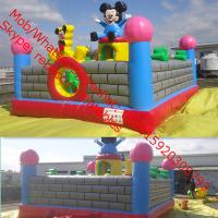 Disney Characters Bouncy castles made in China  Inflatable Bouncers Manufactures