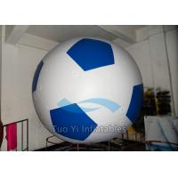 Customized Inflatable Football Helium Sports Balloons Flame Retardant Manufactures
