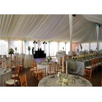 Quality Hard Pressed Extruded Aluminum Alloy High Peak Wedding Event Tents For Party And for sale